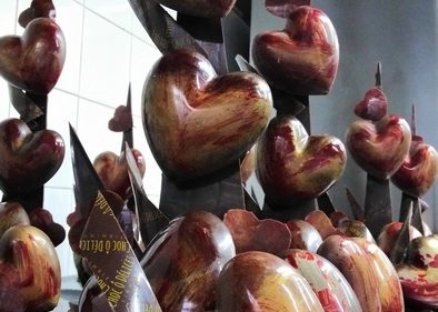 Montage chocolat St Valentin