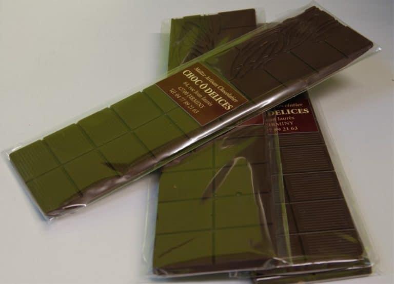 tablettes chocolat noir